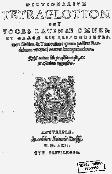 kiliaan-woordenboek